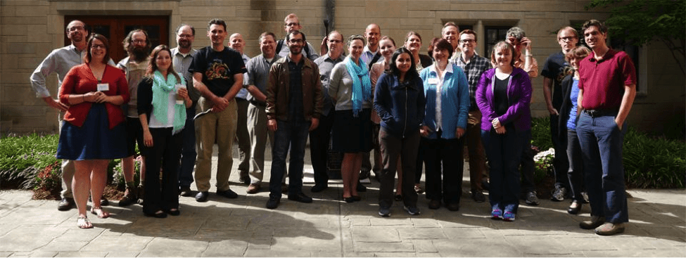 Attendees of the 2013 Avalon Partners Meeting in Bloomington, Indiana