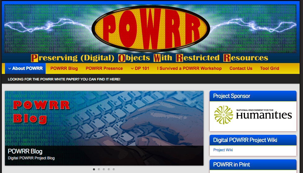 Digital POWRR