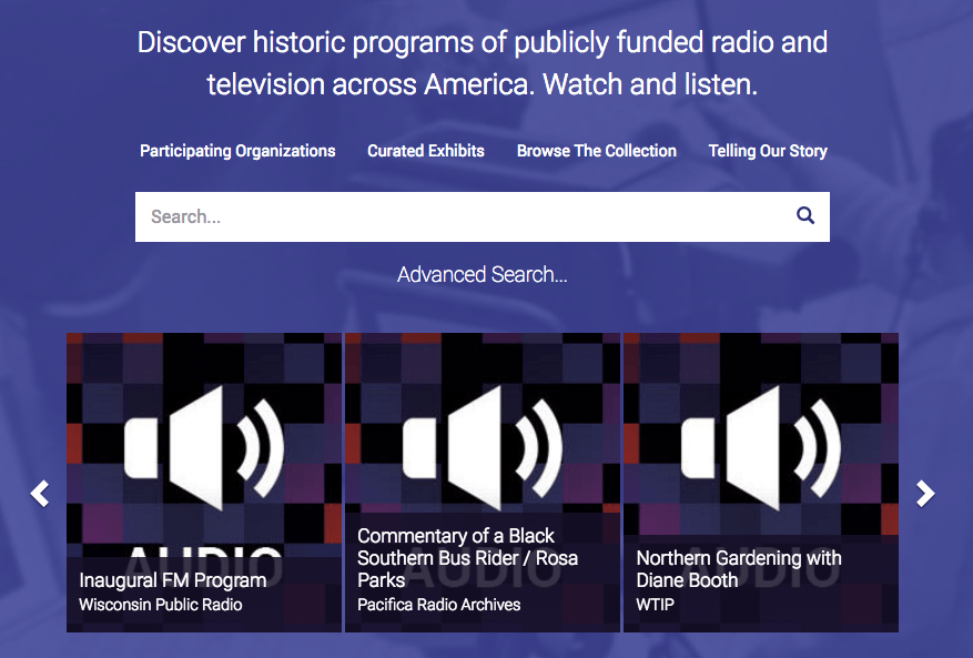 American Archive of Public Broadcasting