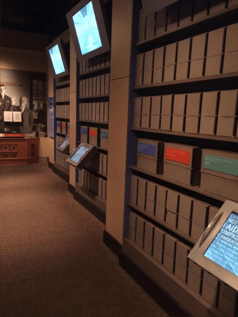 National Archives exhibit - DPLAfest