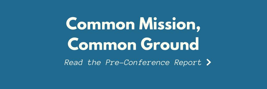Common Mission, Common Ground