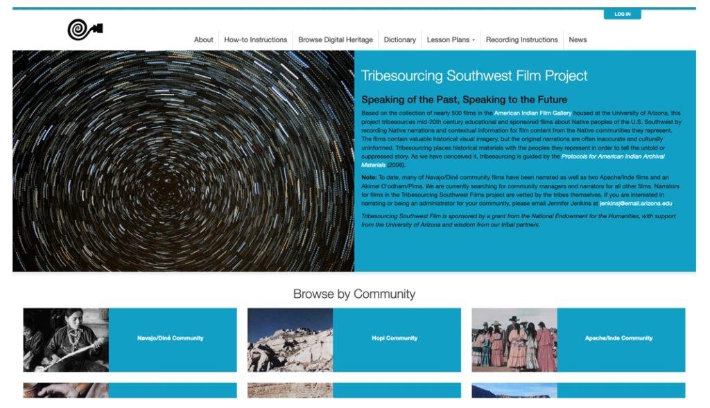 Tribesourceing Website Screenshot