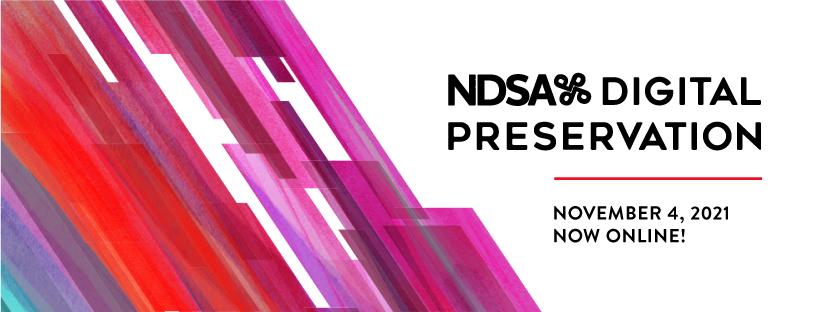 NDSA Digital Preservation Banner