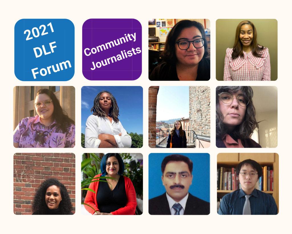 2021 DLF Forum Community Journalists